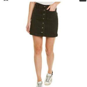 Madewell Stretch Denim Mini Skirt Pocket Edition